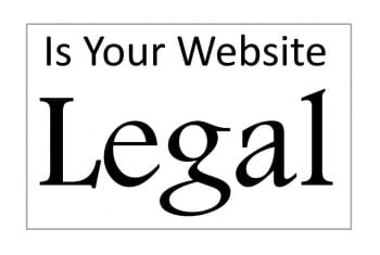 Is Your Website Legally Compliant
