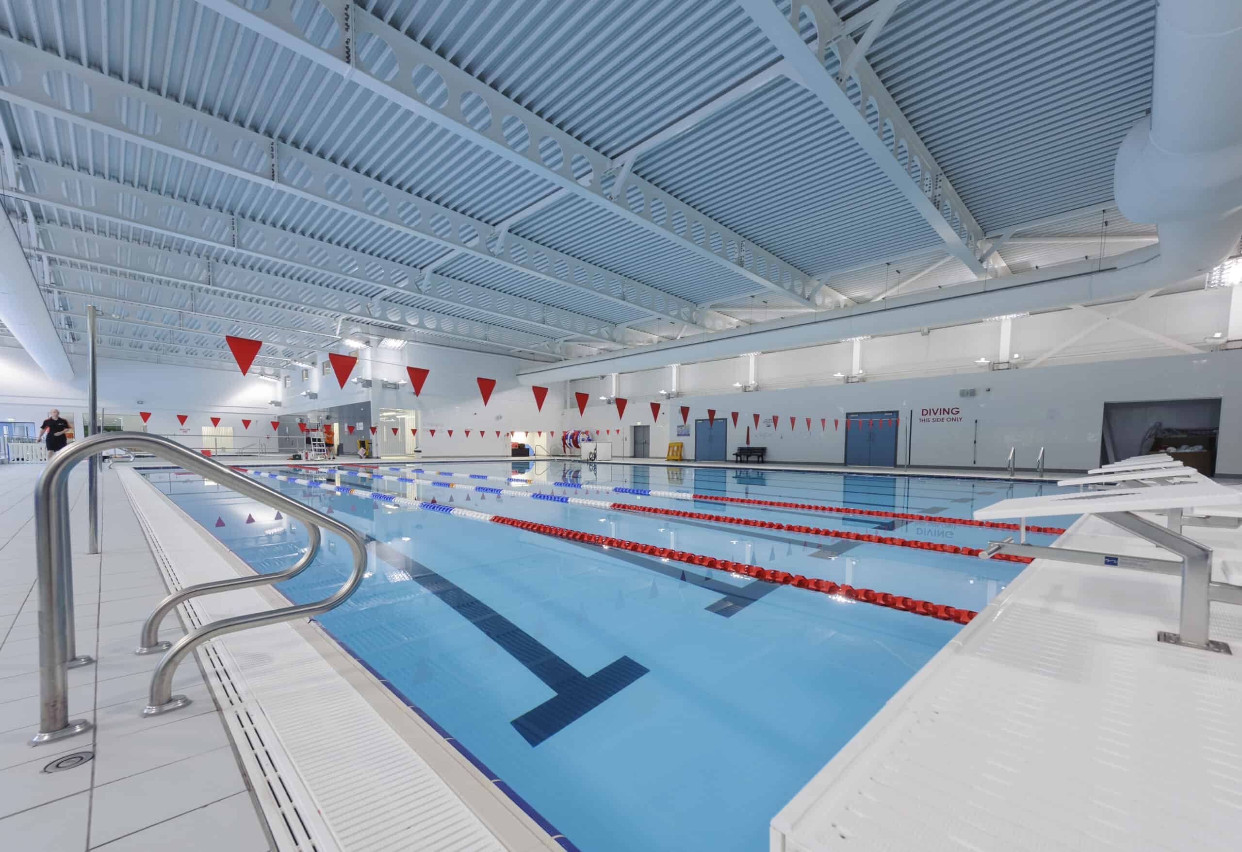 Wrightfield Pools and movable pool floors marketing blue dolphin business development