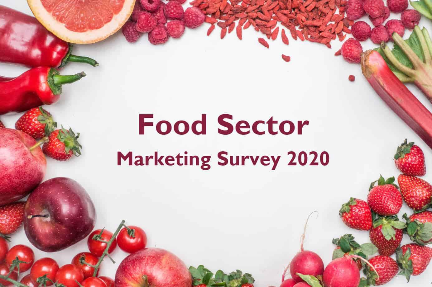 Food Sector Marketing Survey 2020 Vitariss Blue Dolphin