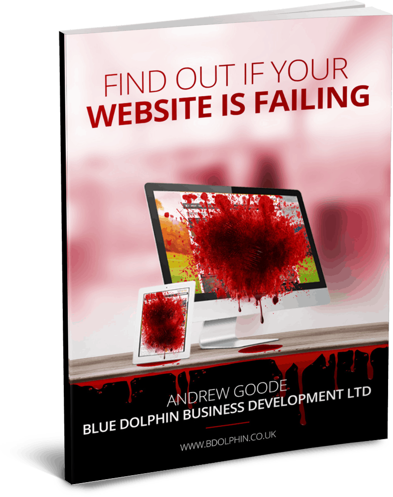 Find Out If Your Website Is Failing Blue Dolphin web design
