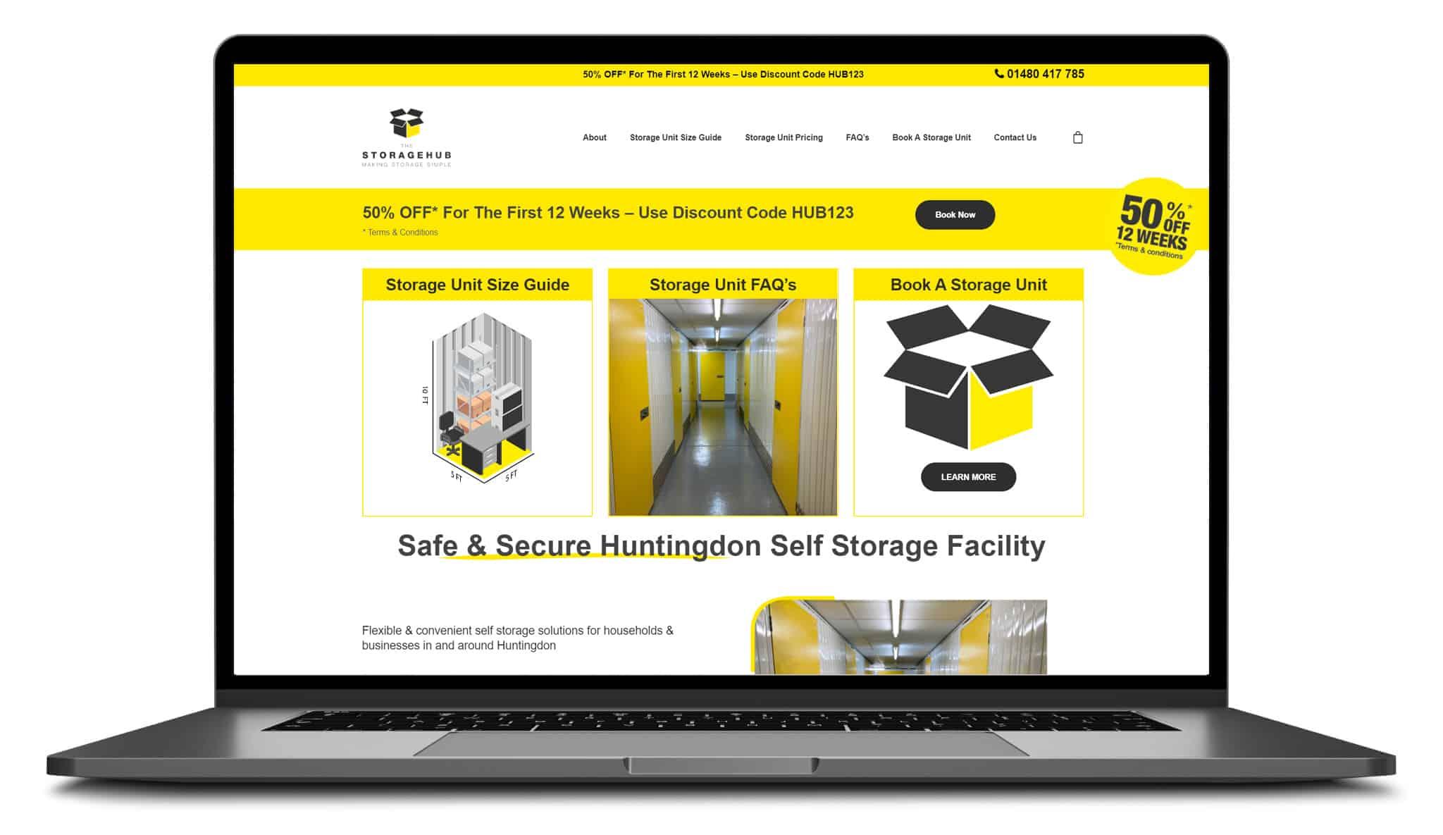the storage hub website laptop device blue_dolphin