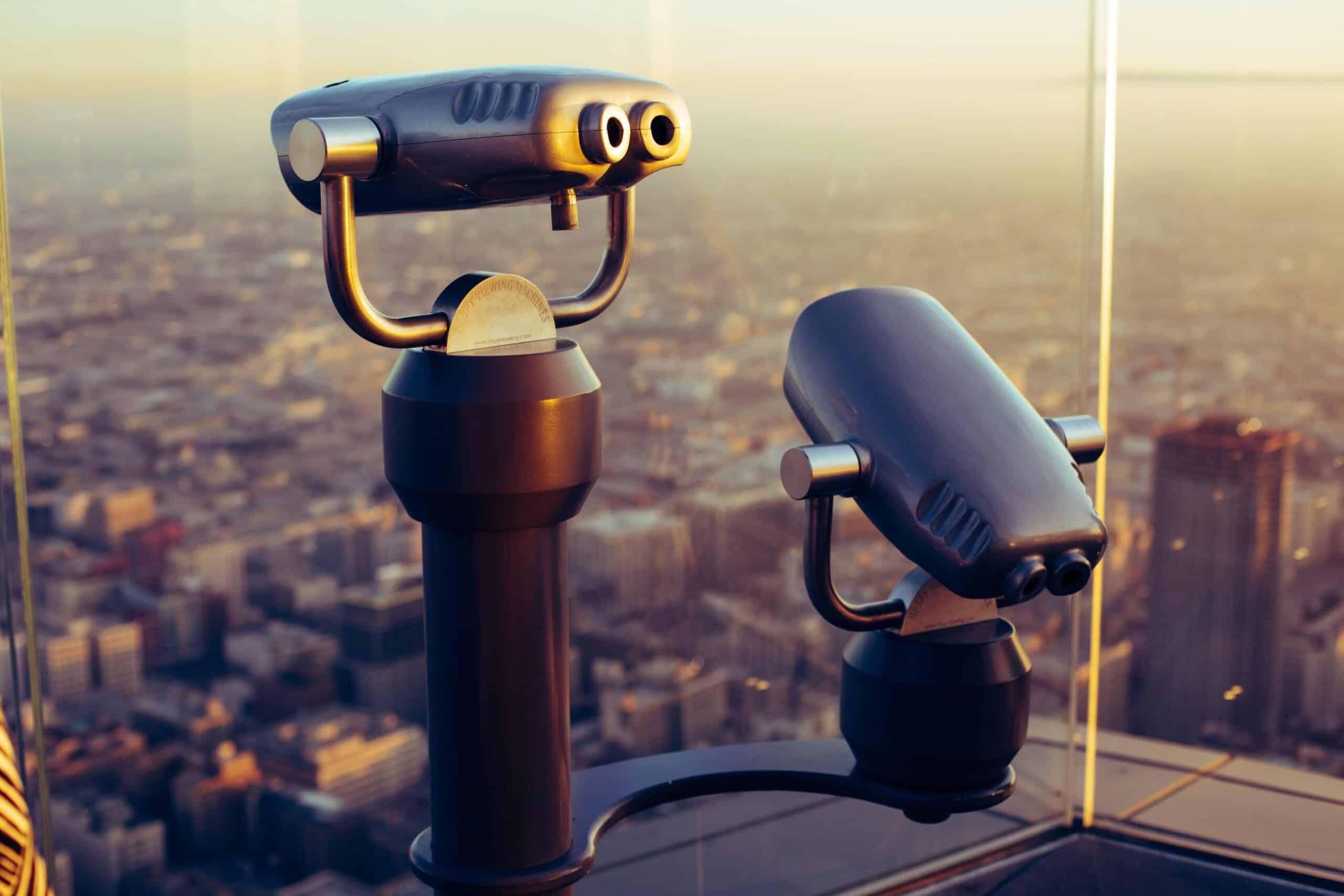 SEO website marketing blue dolphin telescope viewing platform