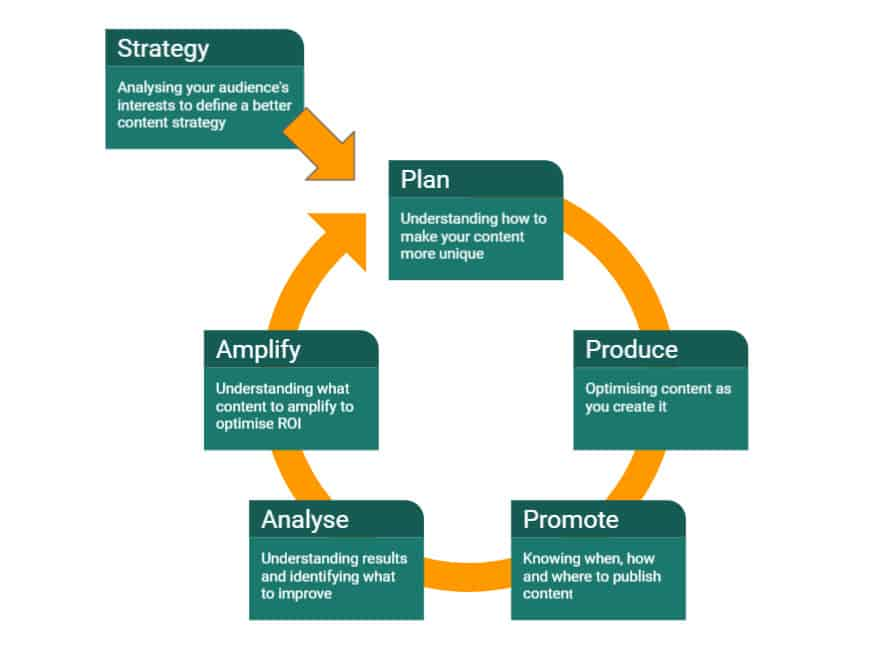 content marketing strategy blue dolphin web design peterborough Website Marketing Guide